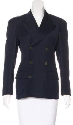 Jean Paul Gaultier Structured Virgin Wool Blazer