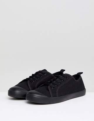 New Look Black Sneaker