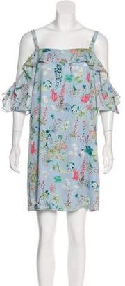 Sanctuary Floral Print Mini Dress