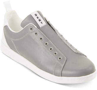 DKNY Men's Finn Leather Lace-up Sneakers Men's Shoes