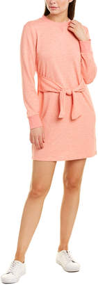 ENGLISH FACTORY Tie-Waist Sweatshirt Dress