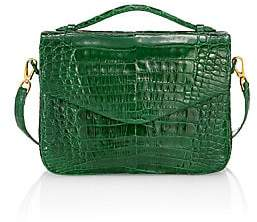 Nancy Gonzalez Women's Large Lucy Crocodile & Python Crossbody Bag