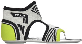 Prada Socks Ankle Sandals