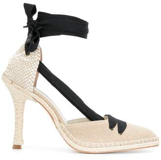 Castaner high-heel espadrille pumps