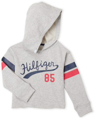 Tommy Hilfiger Girls 4-6x) French Terry Logo Hoodie
