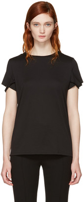 Helmut Lang Black Strappy T-Shirt $140 thestylecure.com
