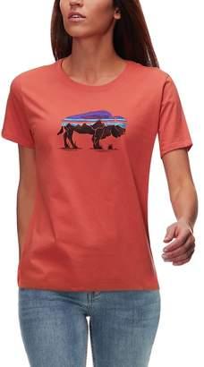 Patagonia Fitz Roy Bison Organic Crew T-Shirt - Women's