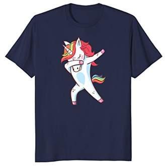 Dabbing Unicorn Shirt - Funny Unicorn Dab Outfit Gift Tshirt