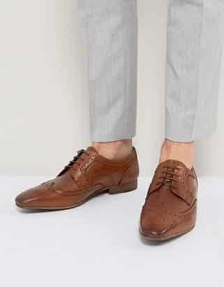 WALK LONDON Walk London City Leather Brogue Shoes