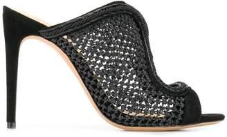 Alexandre Birman fishnet stiletto sandals