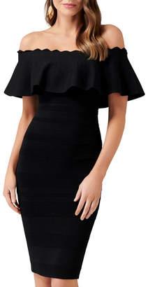 Forever New Kara Ruffle Bardot Dress