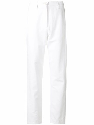 Love Moschino high-waisted straight trousers