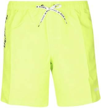 e5c8d7dfdf MSGM Striped Trim Swim Shorts