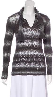 Jean Paul Gaultier Open Knit Long Sleeve Sweater