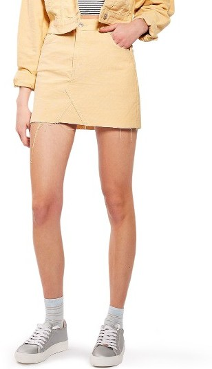TopshopWomen's Topshop Corduroy Miniskirt