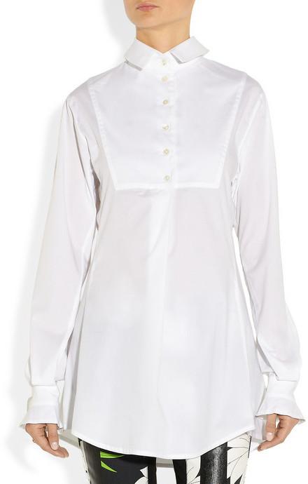 Vivienne Westwood Tiponi stretch-cotton shirt