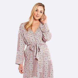 156ae22236 Deshabille NEW Rosegarden Timeless Robe Multi   Ivory Women s