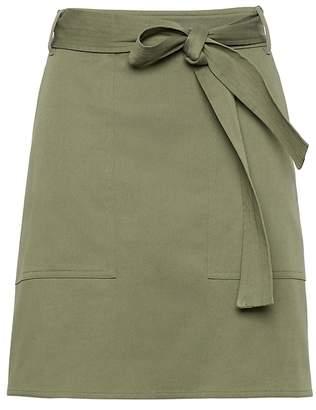 Banana Republic Belted Utility Mini Skirt