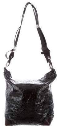Marni Glazed Leather Crossbody Bag