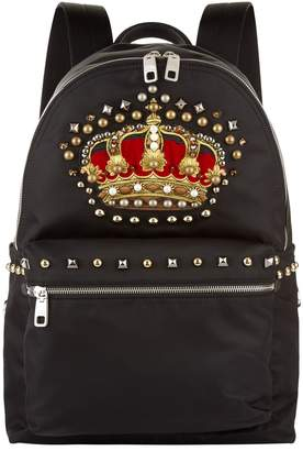 Dolce & Gabbana Vulcano Crown Backpack