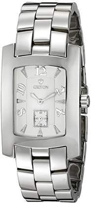 Croton Men's CN307186SSSL Heritage Analog Display Quartz Silver Watch