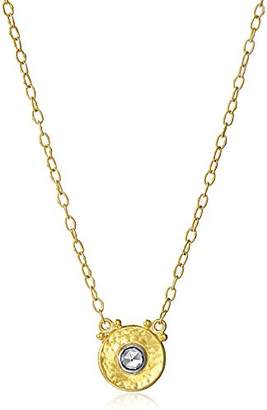 Gurhan Yellow White Diamond Droplet Pendant Chain Necklace