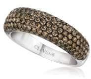 LeVian Le Vian Chocolatier® Pavé Diamond & 14K White Gold Ring
