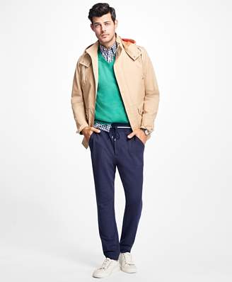 Brooks Brothers Bonded Parka with Removable Hood