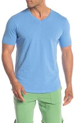ddf83f44 Goodlife V-Neck Short Sleeve Slub Knit T-Shirt