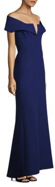 BCBGMAXAZRIA Amelia Off-The-Shoulder Gown $368 thestylecure.com
