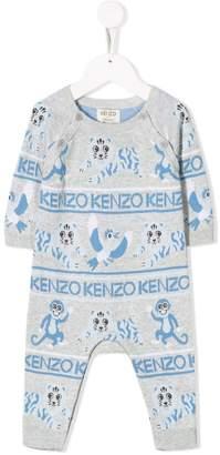 Kenzo crazy jungle romper