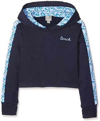 Bench Girl's Crop Hoodie,(Manufacturer Size: 11-12)