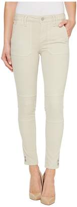 Calvin Klein Jeans Garment Dyed Cargo Ankle Skinny Pants Women's Casual Pants
