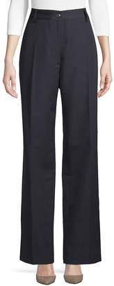 Dries Van Noten Women's Wool High-Rise Pants