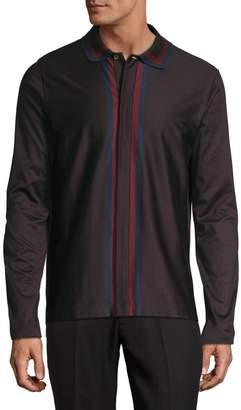 Paul Smith Striped Button-Down Shirt