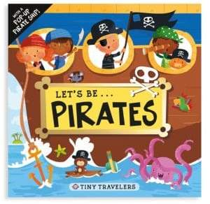 Macmillan Tiny Traveler's Let's be Pirates with Pop-Up Ship