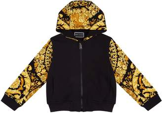 Versace Baroque Zipped Hoodie