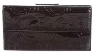 Dolce & Gabbana Patent Leather Wallet