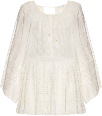 ZIMMERMANN Harlequin Broderie top $420 thestylecure.com