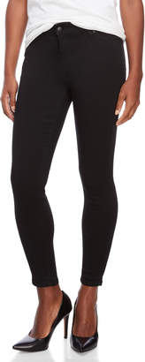 Celebrity Blues Petite Mid Rise Skinny Jeans
