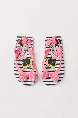 H&M Flip-flops with Bow - Pink