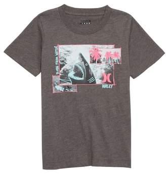 Hurley Sketchy Shark Graphic T-Shirt