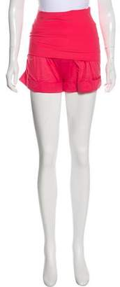 Eres Fold Over Mini Shorts