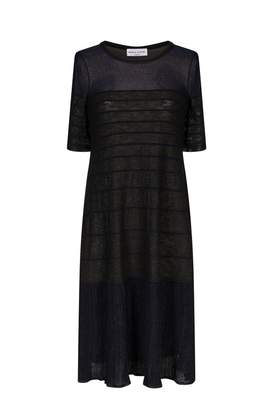 Sonia Rykiel Pleated Voile Dress