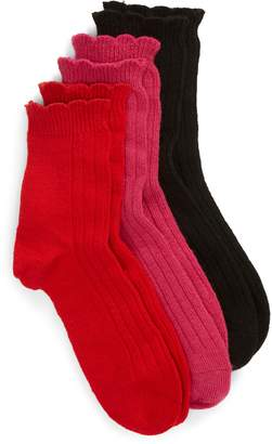 UGG Assorted 3-Pack Crew Socks