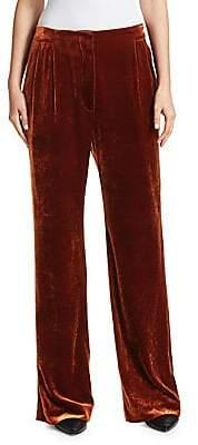 Brunello Cucinelli Women's Liquid Velvet Pants