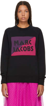 Marc Jacobs Black Raglan Logo Sweatshirt