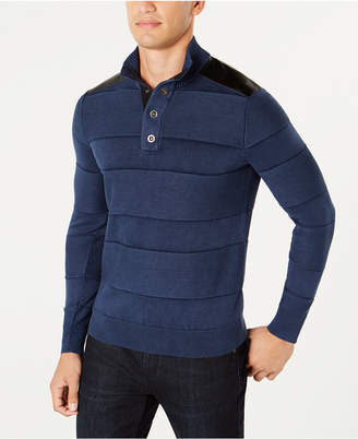 INC International Concepts I.n.c. Men's Mineral Striped Sweater