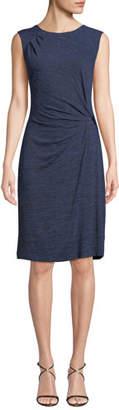 Nic+Zoe Every Occasion Melange Knit Twist Dress, Petite