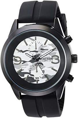 Kenneth Cole Reaction Men's 'Dress Sport' Quartz Metal and Silicone Watch